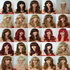 Fashion Women Long Hair Full Wig Natural Curly Wavy Synthetic Hair Wigs - styleF