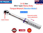 KING TONY 3~15 Nm 1/4DR Heavy Duty Quick release adjustment Mini Torque Wrench
