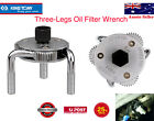 KING TONY 3 Jaw 2 Way Dual Drive Oil Filter Wrench Fuel Filter Remover Wrench