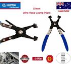 KING TONY 51mm Hose Swivel + Jaw Clip Clamp Pliers Corbin type Spring Wire Clips