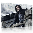 Jon Snow Game of Thrones TV show Movies Films - Canvas Wall Art Print Picture