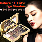 PROFESSIONAL MAKEUP LOOSE POWDER GLITTER EYE SHADOW PALETTE BEAUTY 10 COLORS E5