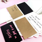 blank postcards - 100pcs Blank Greeting Card Kraft Paper Postcards DIY Hand Painted Graffiti Hot