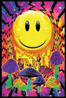 Have a Nice Trip Flocked Blacklight Art Silk Poster 12x18 24x36 24x43