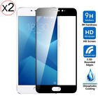 2PC 9H Full Cover Tempered Glass Hardness Screen Film Protector For Meizu Models