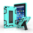 """For Amazon Kindle Fire 7"""" Tablet 5th Gen 2015 Hybrid Rubber Stand Case Cover"""