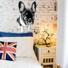 French Bulldog Animals Pets Full Color Wall Decal Sticker K-939 FRST