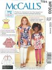 McCall's 7526 Toddler to Tween Girls' Tops   Sewing Pattern