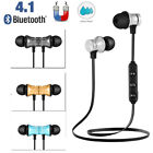 Magnetic Wireless Bluetooth Earphone Handsfree Sports Stereo Headphone with Mic