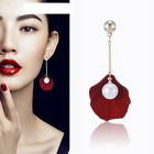 1 Pair Shell Pearl Women Fashion Ear Studs Earrings Pendant Jewelry Accessories