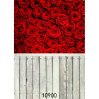 5X7FT Romantic Red Rose Photography Backdrop Valentines Day Gift Background Prop