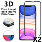 Verre Trempé iPhone XS Max XR 6 7 8 11 12 Pro Vitre Protection Ecran Film Total