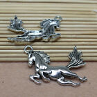 5/20pcs alloy antique silver exquisite and lovely galloping pony charm pendant
