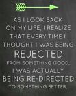 """"""" FUNNY LIFE GUIDANCE REJECTED SIGN """" FUNNY  METAL SIGN / PLAQUE"""