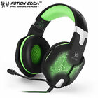 EACH G1000 PC Gaming Bass Stereo Headset Microphone LED Laptop Computer lot EC