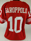 Jimmy Garoppolo Unsigned Custom Sewn Red Football Jersey Size - L, XL, 2XL