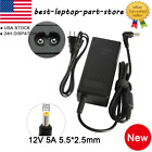 12V 5A AC Power Supply AC Adapter Charger For PC LED Light CCTV Camera best