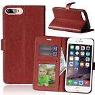Premium Luxury Leather Flip Wallet Book Card Slots Case Cover For Lenovo Phones