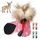 4pcs Waterproof Dog Shoes Non Slip Snow Rain Boots Booties for Winter Luxury S-L