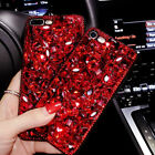 Vogue Girl 3D Bling Crystal Diamond Phone Case Cover For iPhone Samsung S9 Plus