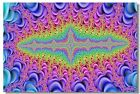 Poster Psychedelic Trippy Colorful Ttrippy Surreal Abstract Astral Art Print 66