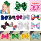 2017 Europe and America pretty Girls Jojo Large Bowknot Hair Bow 8'' Hair Clips