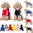 Hot Pet dog Adidog jumpsuit dog cat clothing For puppy clothes costume Supplies