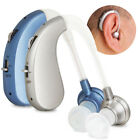 AU! Rechargeable Hearing Aids Acousticon Behind Ear Sound Amplifier Audiphone