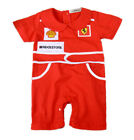 StylesILove Infant Toddler Chic Red Car Racer Baby Boy Romper
