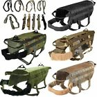 DOG TACTICAL VEST LEASH MOLLE CANINE HARNESS K9 HUNTING TRAINING MILITARY