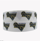 "GROSGRAIN LOS ANGELES RAMS FOOTBALL 1"" RIBBON FOR HAIR BOWS DIY CRAFTS $5.59 USD on eBay"