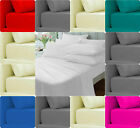 """Extra Deep Fitted Bed Sheet~Non Iron PERCALE 180 TC 12"""" ( 30cm ) Depth~12 COLORS"""