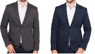 Ike Behar Men's Stretch Knit Classic Two Button Blazer Sport Jacket