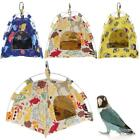 Cute Bird Parrot Warm Tent Nest Soft Coral Velvet Bird House Bed Cave Cage