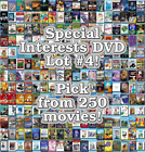 Special Interests DVD Lot #4: DISC ONLY - Pick Items to Bundle and Save!