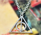 Free Ship Hot Movie Harry Potter -Deathly Hallows Metal Silver Gold Necklace