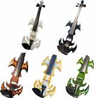 Solid wood SONG Brand crazy-1 streamline 4/4 electric violin different color
