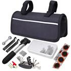 Cycling Bicycle Bike Tire Tyre Puncture Repair Tool Kits Rubber Patch & Bag