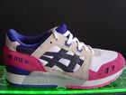 NEW DS ASICS GEL LYTE 3 III CLASSIC WHITE BLACK