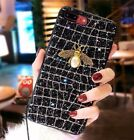 Luxury 3D for iPhone X 6 7 8 Plus Metal Pearl Beer Bling Glitter Cover Back Case