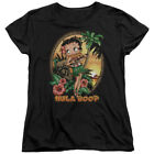 BETTY BOOP HULA BOOP II T-Shirt Womens' Short Sleeve Jersey $26.99 USD