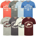 Tokyo Laundry Mens Henryville And Springfield T-Shirts Cotton Short Sleeve Tops