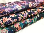 *NEW* Stretch Viscose Jersey Floral/African Prints Dress/Craft Fabric*FREE P&P*
