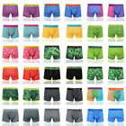 3/612 Men's Leaf Weed Boxer Shorts Cannabis Gift Pack Underwear Trucks All Sizes
