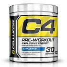 Cellucor C4G4 Pre-Workout Supplement Icy Blue Razz (1, 2, or 3 Pack)