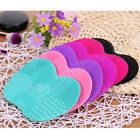 Внешний вид - Makeup Brush Silicone Cleaner Pad Washing Scrubber Board Cleaning Mat Hand Kits
