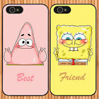 best case for samsung galaxy note 2 - Best Friends Spongebob Patrick for 6s 7 Plus X 8 8+ & Samsung Case Cover Qo44