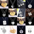 2/3pc Encourage Best Friend Gift Crystal Necklace Pendant Jewelry Friendship Bff