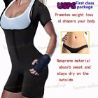 exercise full body - Full Body Sauna Suit Neoprene Vest with Sleeves Exercise Gym Shaper Weight Loss