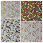 100% Cotton Fabric Metres Curtains Craft Patchwork Sewing Floral Cottage Garden